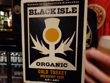 Black Isle go Cold Turkey